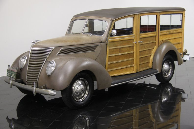 1937 Ford Model 78B Deluxe Station Wagon