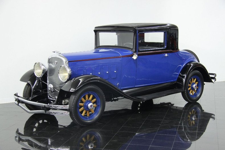 1931 Hudson 8 Rumble Seat 3-window Coupe