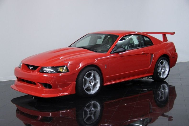 2000 Ford Mustang SVT Cobra R Sport Coupe