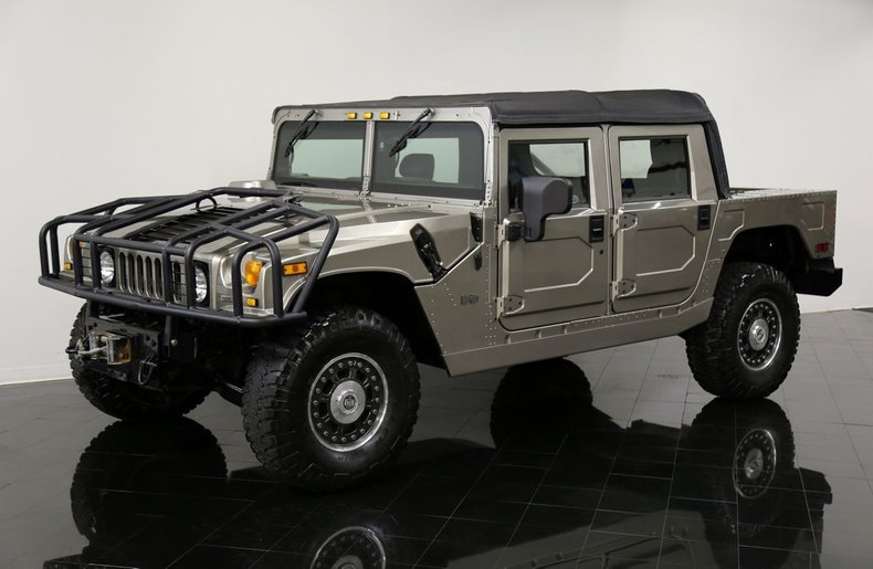 2006 Hummer H1 Alpha Open Top