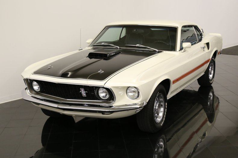 1969 Ford Mustang Mach I 428CJ Sports Roof