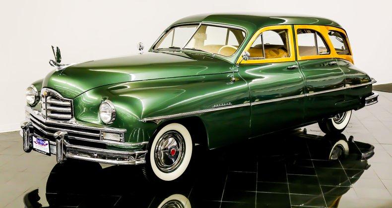 1950 Packard Super 8 Station Sedan