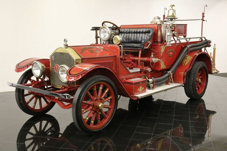 1917 American Lafrance Type 40 Triple Combination Pumper Fire Truck