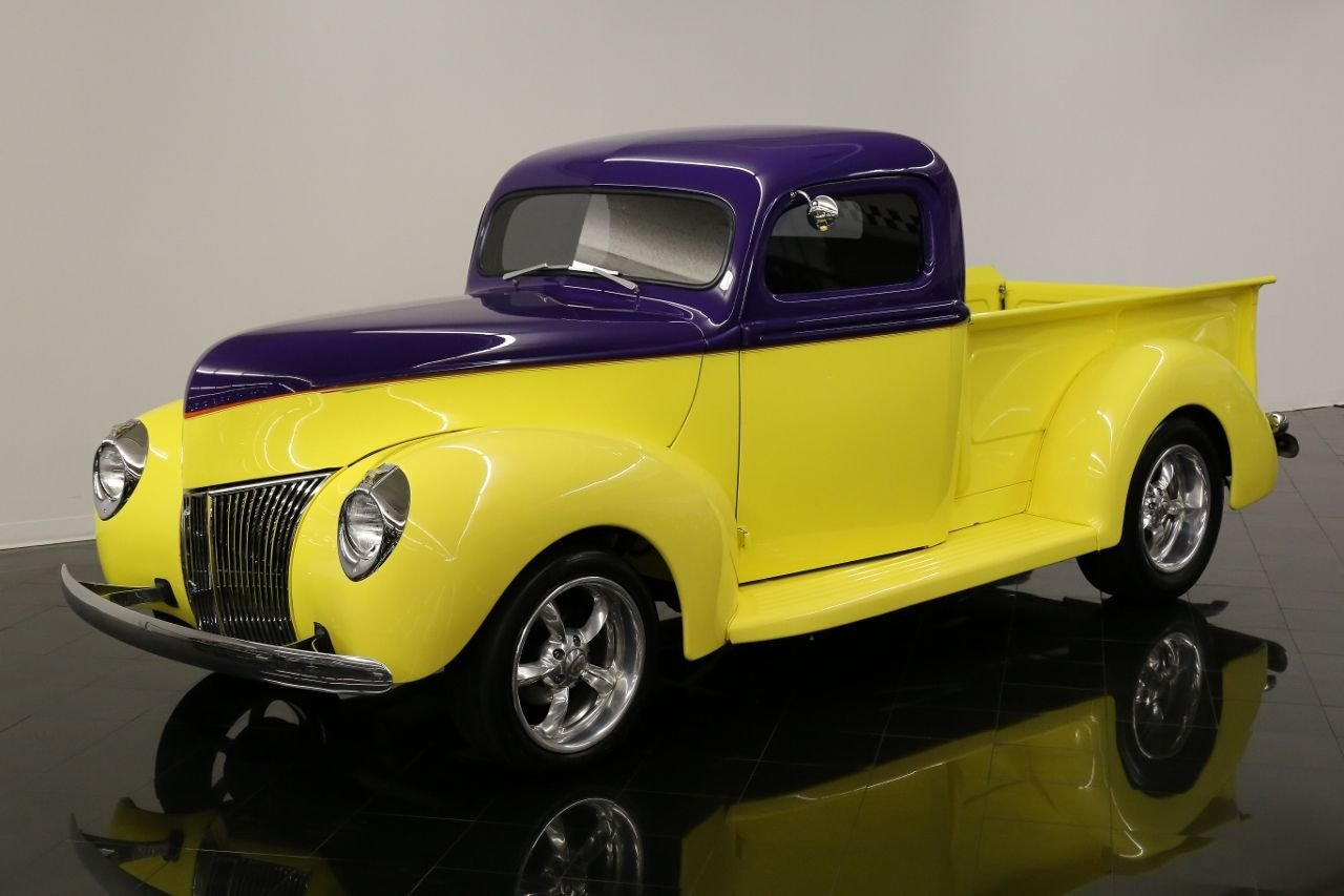1940 ford pickup streetrod streetrod