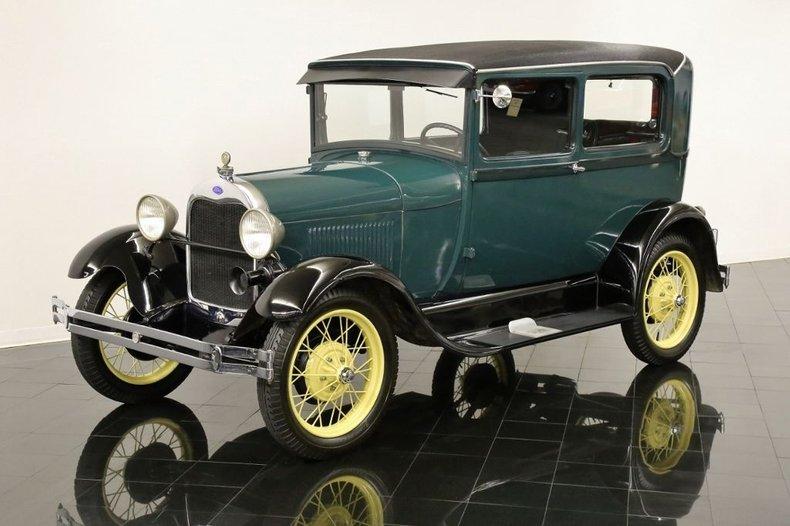 1928 Ford Model A Tudor Sedan