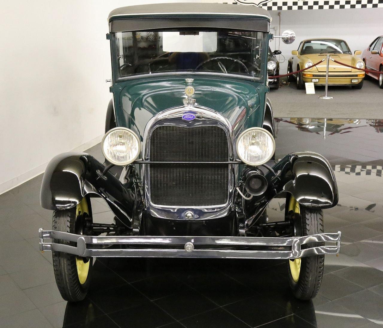 1928 Ford Model A Tudor Sedan For Sale St Louis Car Museum