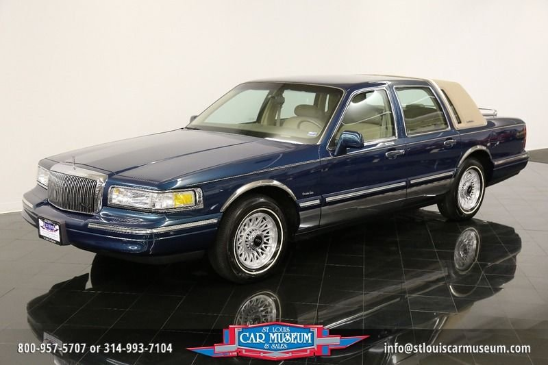 1997 lincoln town car executive series car executive series