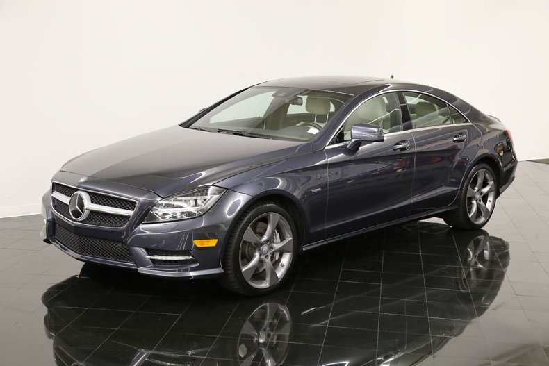 2012 Mercedes-Benz CLS550 4Matic Launch Edition