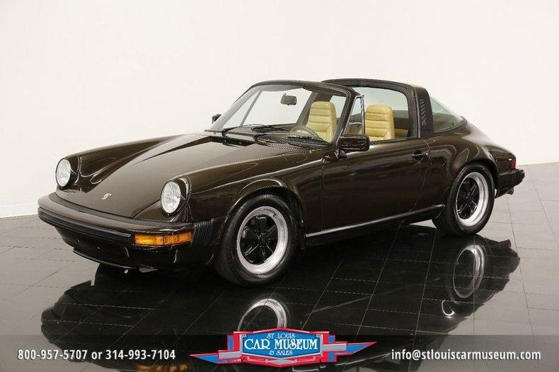 1980 Porsche 911SC Targa Coupe