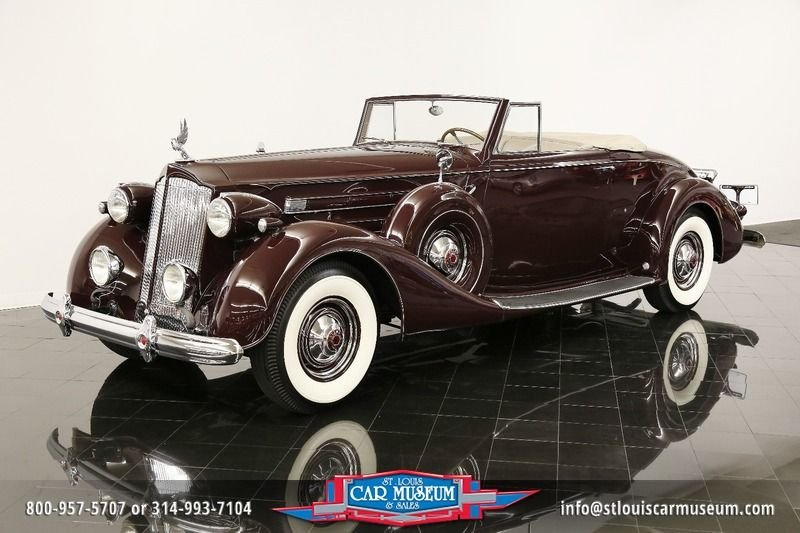 1937 packard twelve coupe roadster