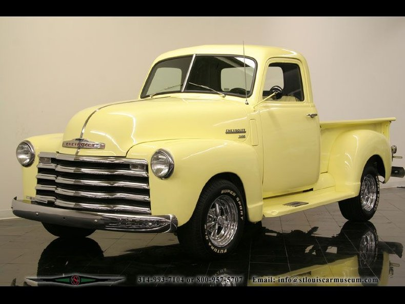 1950 Chevrolet Deluxe 3100 5-Window Pickup
