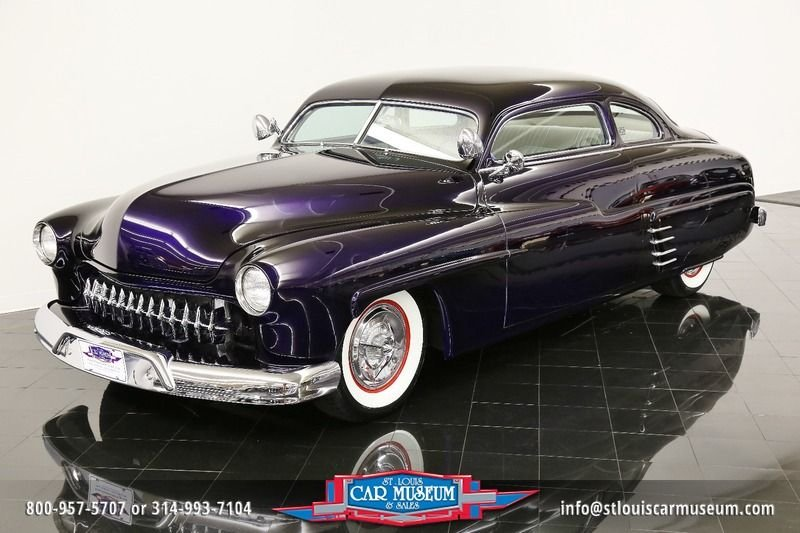 1949 mercury eight deluxe coupe lead sled deluxe coupe lead sled