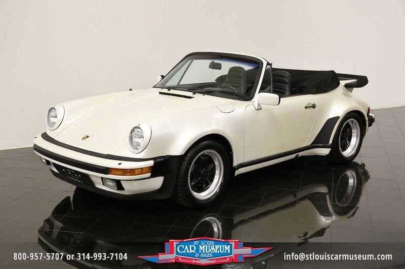1984 porsche 911 carrera turbo look cabriolet carrera turbo look cabriolet