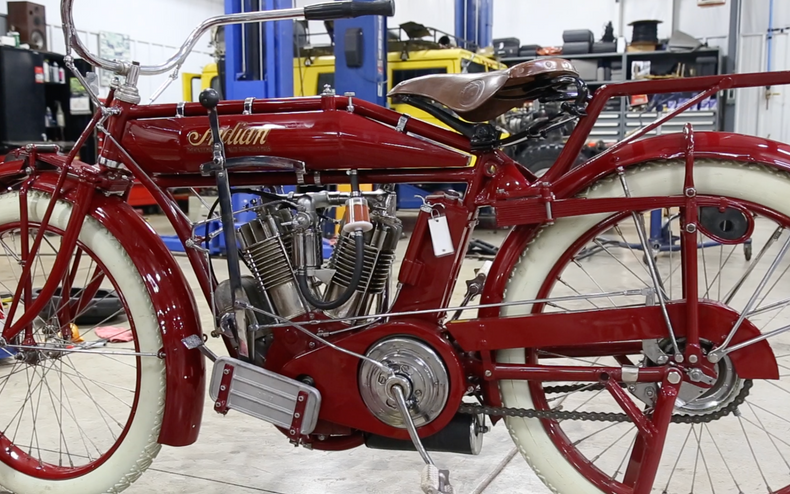 1914 Indian Motorcycle