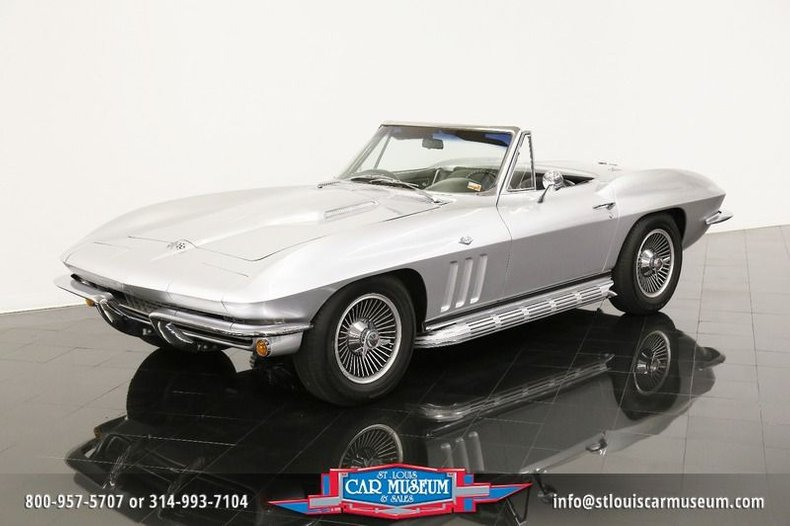 1966 Chevrolet Corvette Sting Ray Convertible