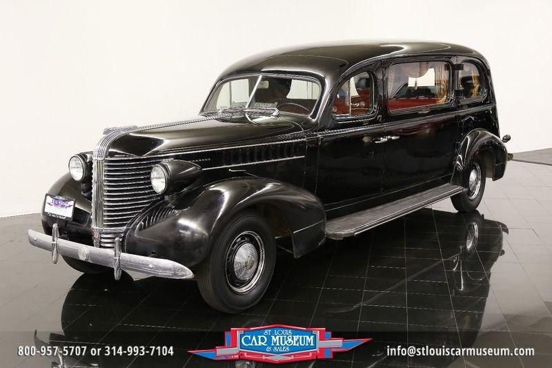 1938 pontiac superior hearse hearse