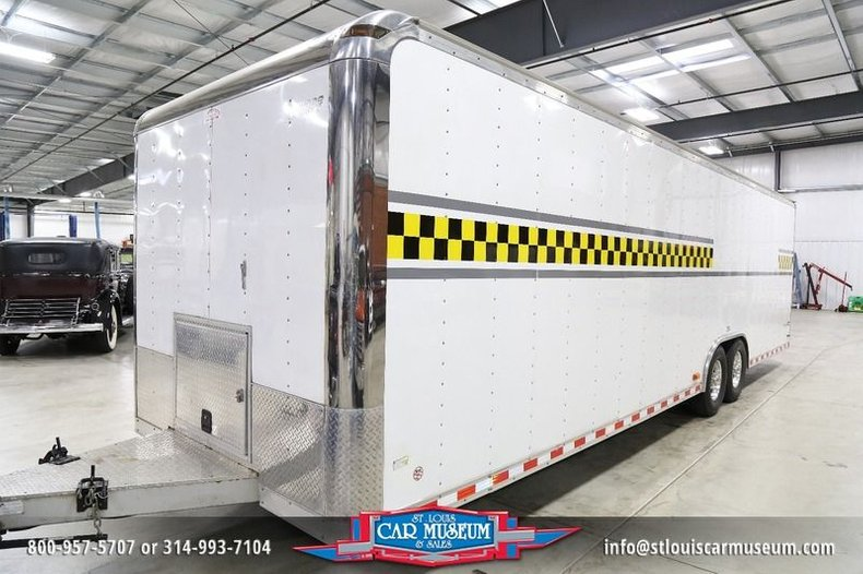 2007 Pace American Shadow GT 30' Race Trailer