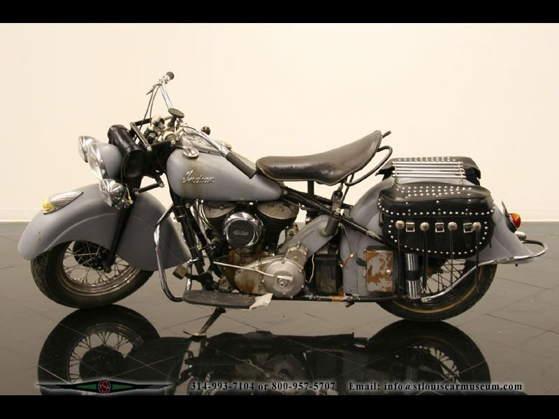 1947 indian motorcycle motorcycle