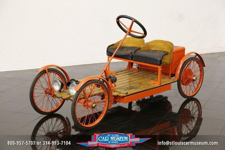 1924 Auto Red Bug 703 Electric Buckboard