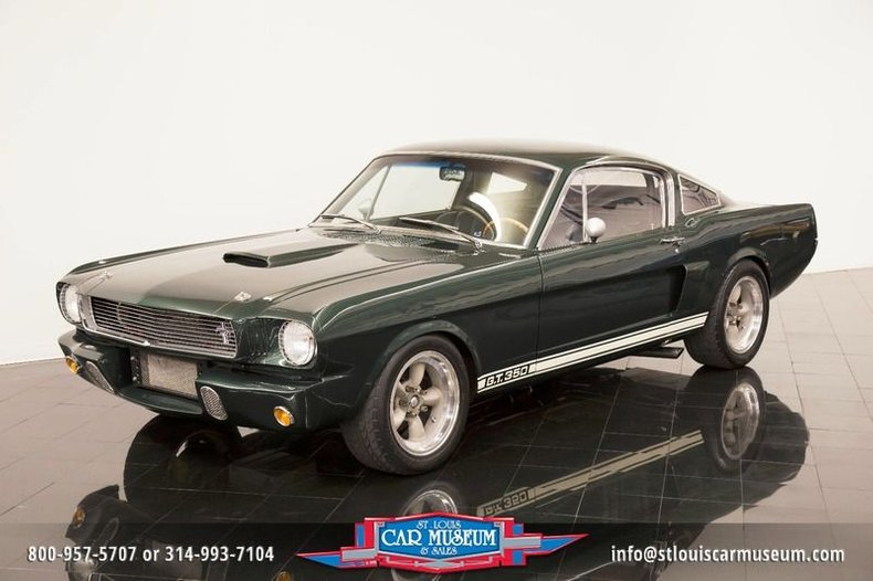 1965 Ford Shelby Mustang GT350R Tribute