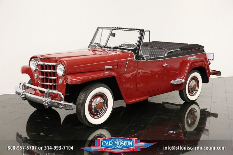 1950 willys overland jeepster value