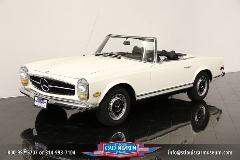 1969 Mercedes Benz 280SL Convertible