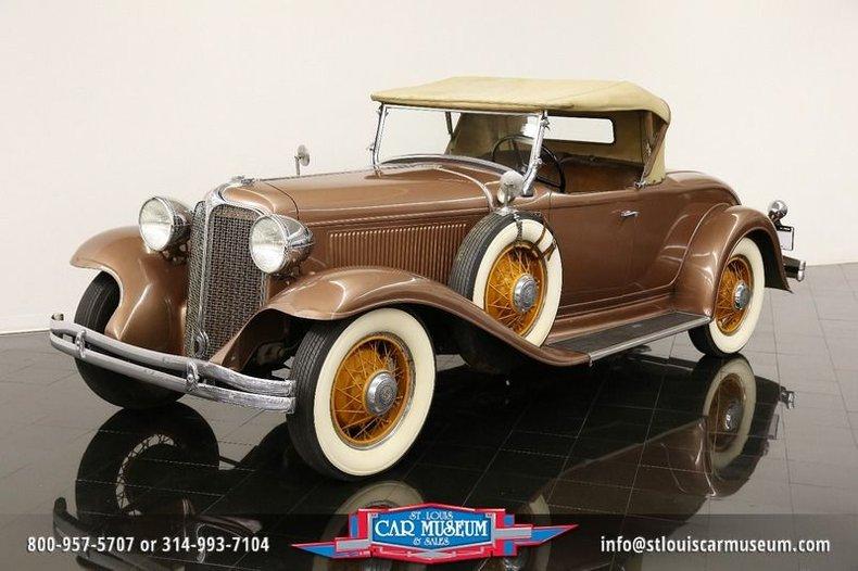 1931 Chrysler CD Eight Sport Roadster