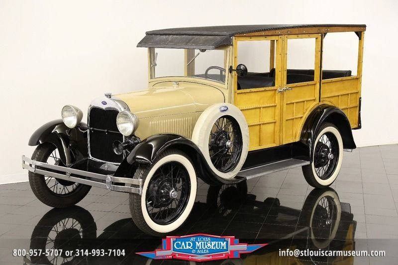 1929 ford model a woody station wagon a woody station wagon