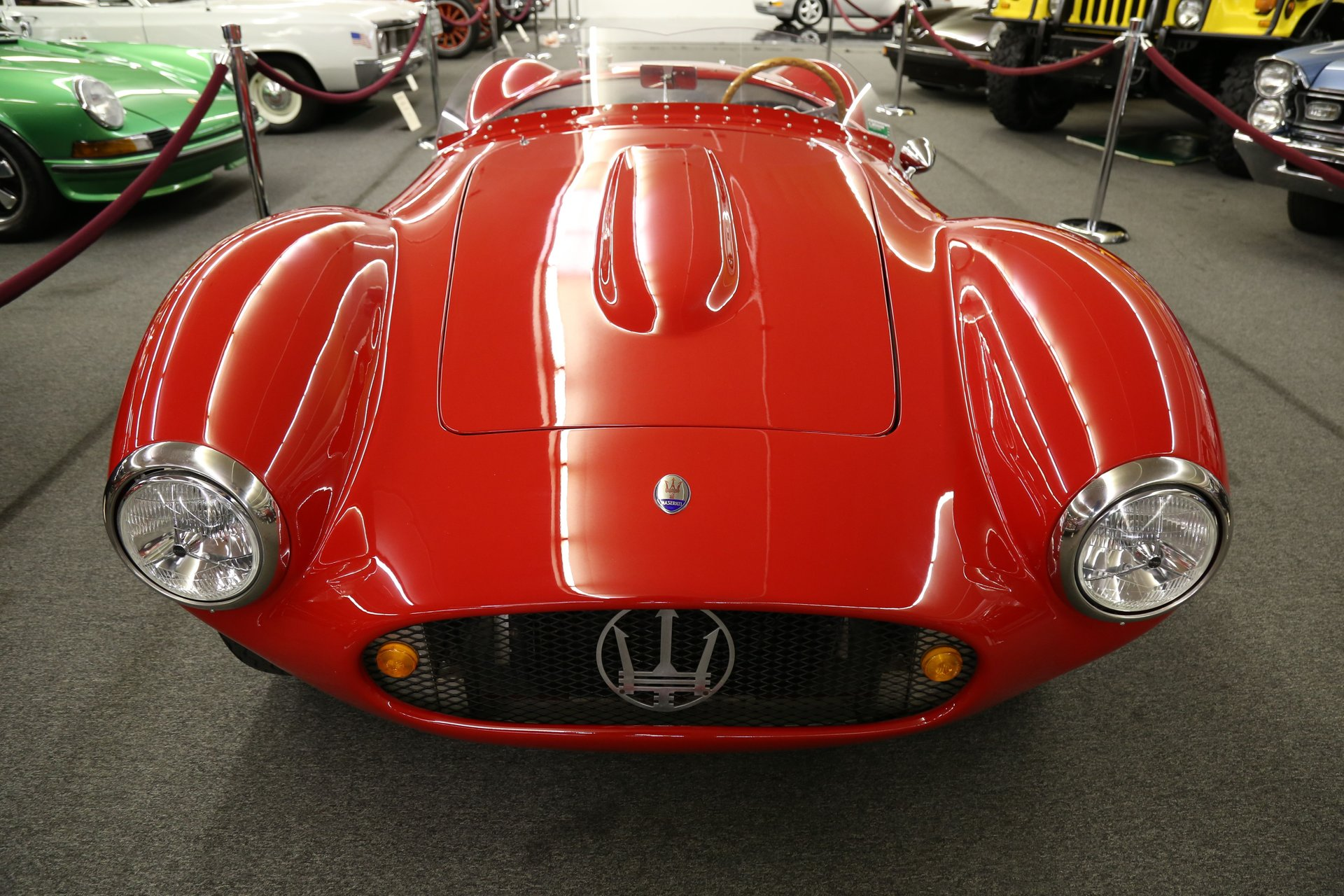 1954 maserati a6gcs spyder recreation spyder recreation