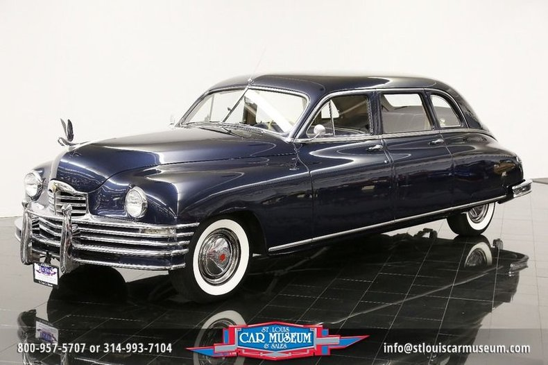 1948 Packard Super Eight 7-passenger Deluxe Sedan