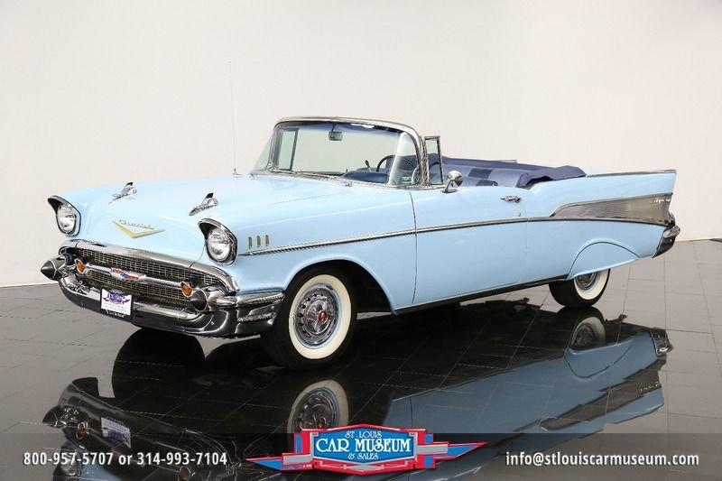 1957 chevrolet bel air air convertible