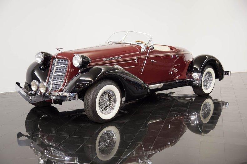 1936 Auburn 876 Boattail Speedster