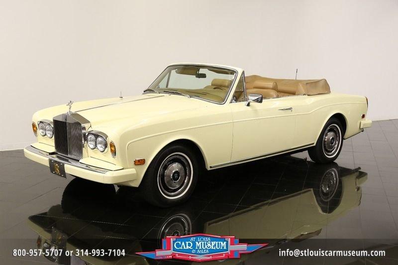 1982 rolls royce corniche drophead coupe drophead coupe