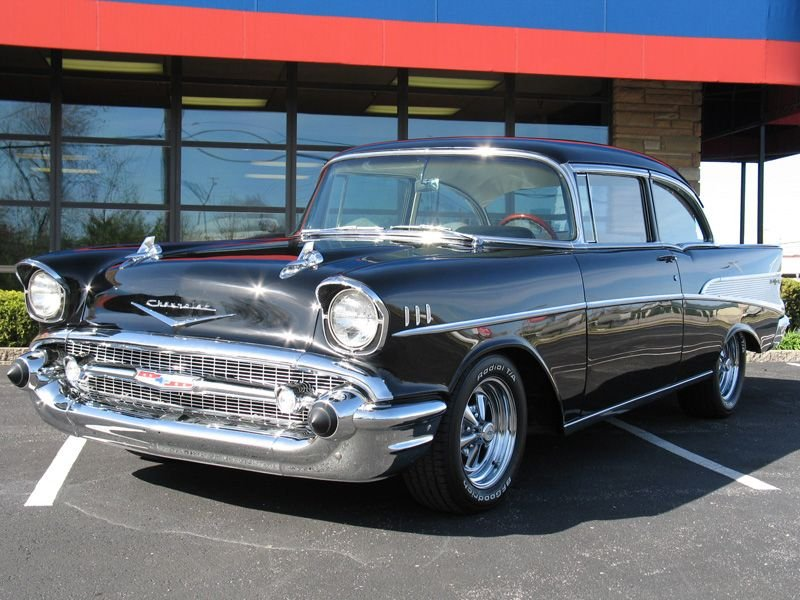 1957 chevrolet bel air air sport coupe