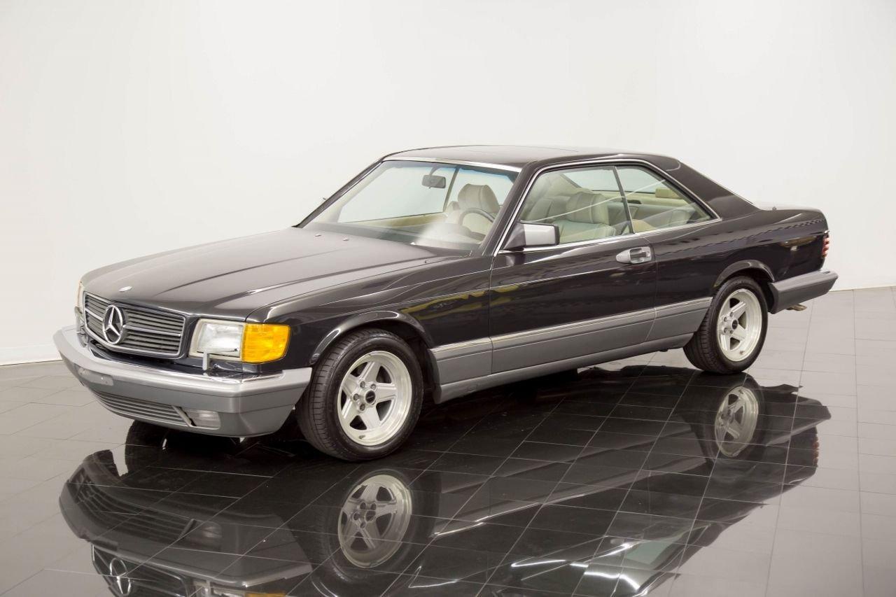 1987 mercedes benz 560sec sport coupe