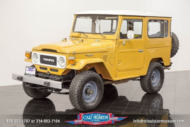 1982 toyota land cruiser fj land cruiser
