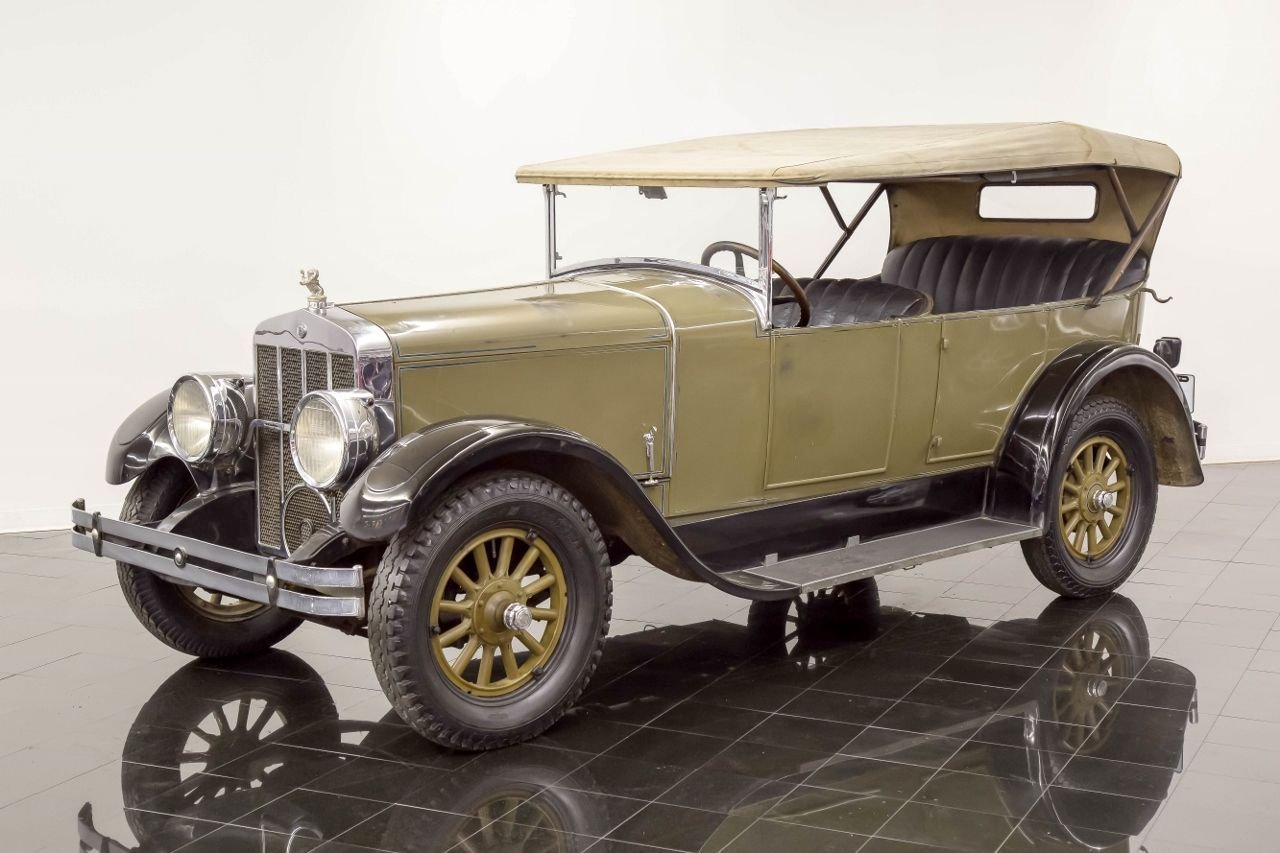 1927 franklin 11b touring