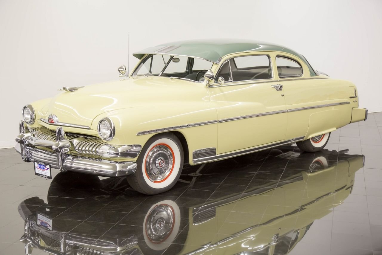 1951 mercury deluxe 6 passenger coupe 6 passenger coupe