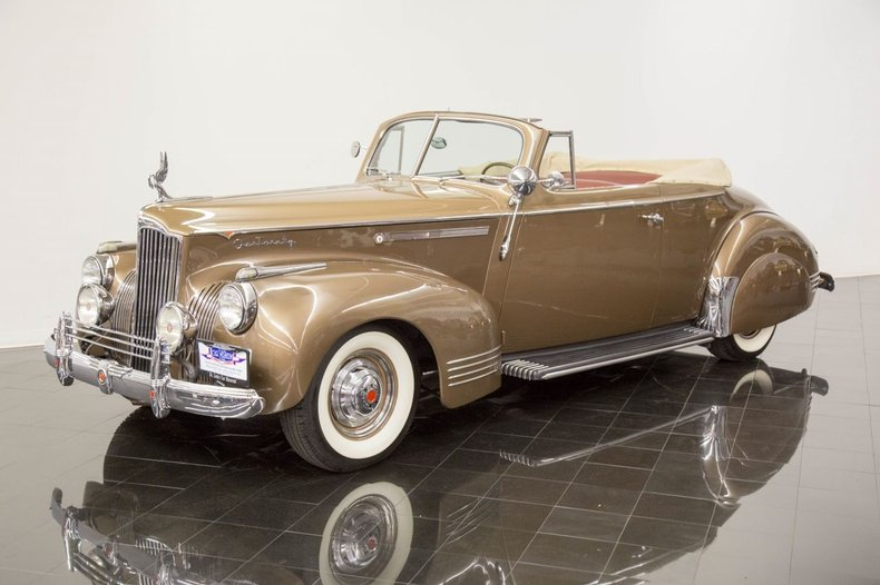 1941 Packard One-Twenty 1901 Convertible Coupe