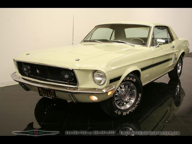 1968 ford mustang gt cs california special gt cs s code coupe