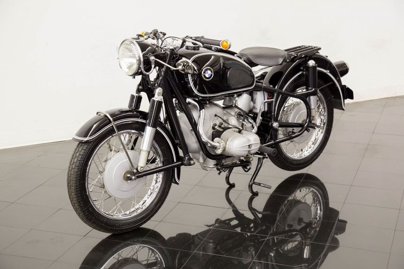 1962 BMW Motorcycle