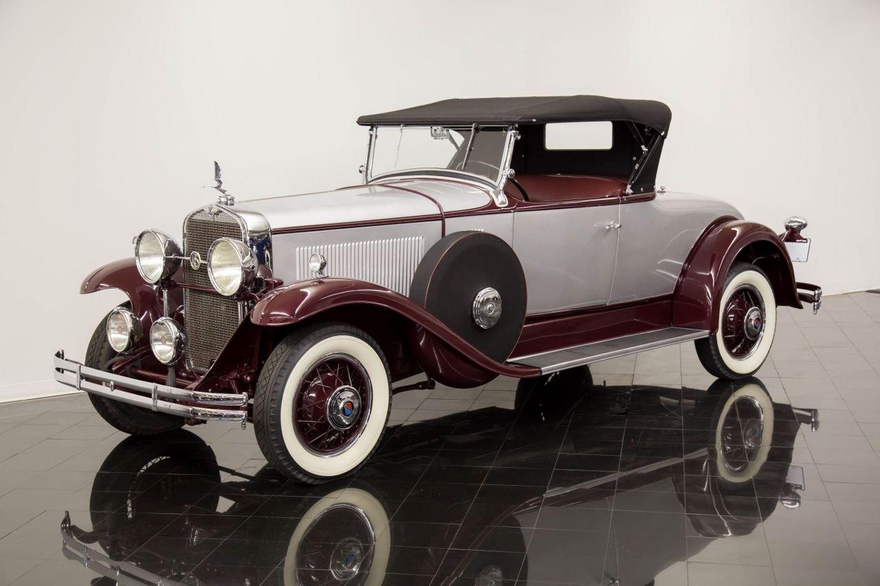 1930 lasalle 340 340 2 4 passenger rumble seat roadster