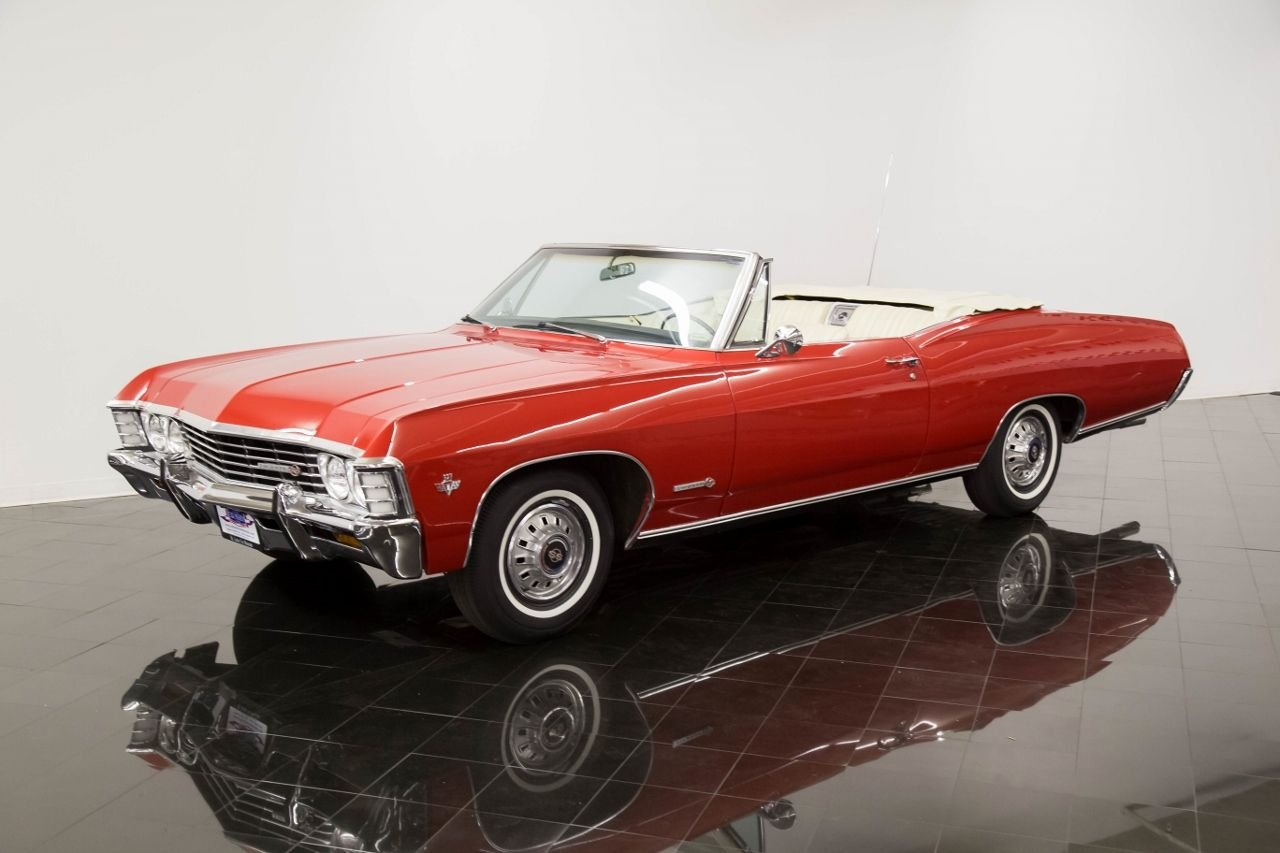 1967 chevrolet impala ss ss convertible