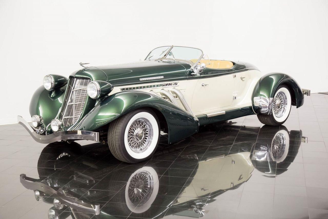 1936 auburn replica speedster motorcar