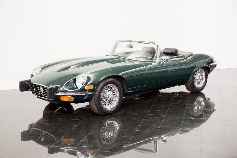 1974 jaguar xke series iii iii e type convertible