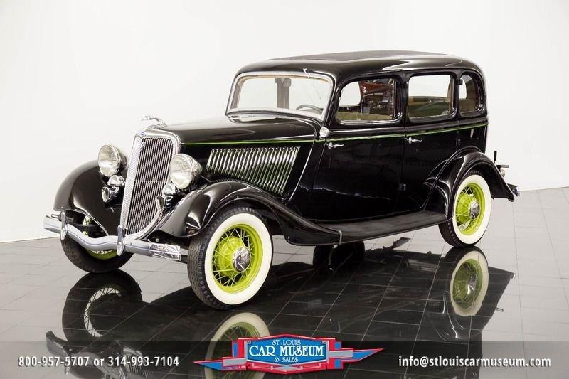 1934 ford model 40 40 deluxe 4 door sedan