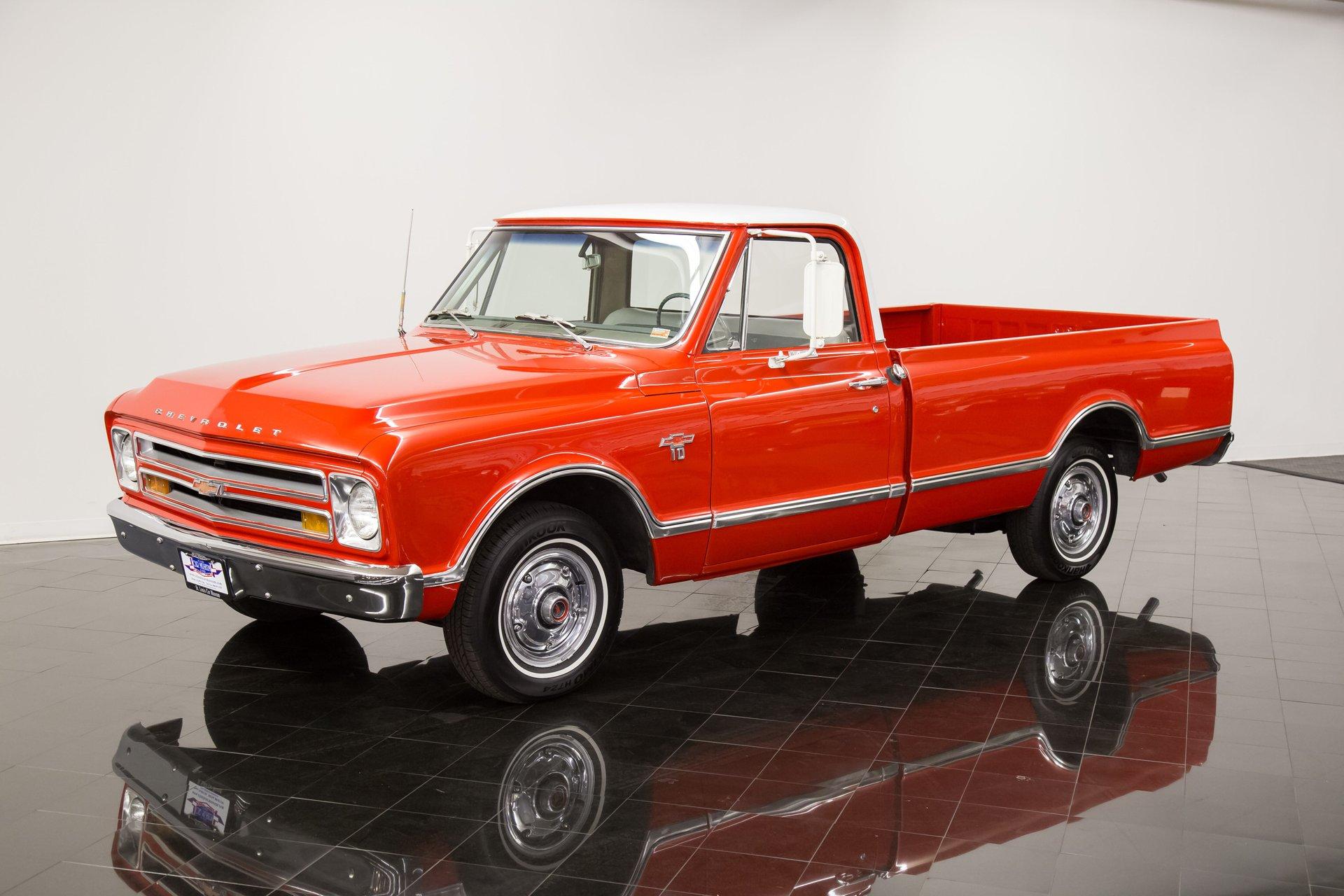 1967 chevrolet c10 custom long bed pickup