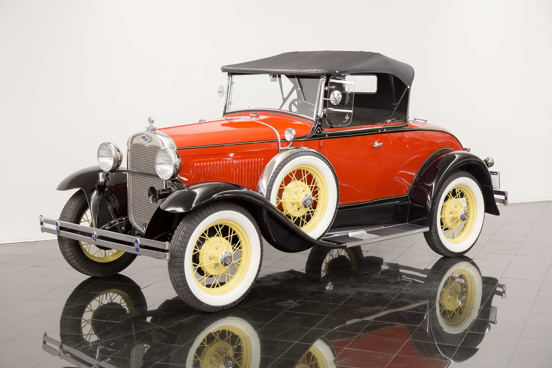 1930 ford model a a deluxe rumble seat roadster