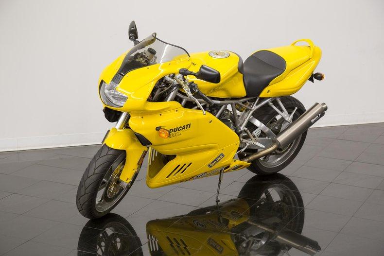 2004 Ducati Motorcycle