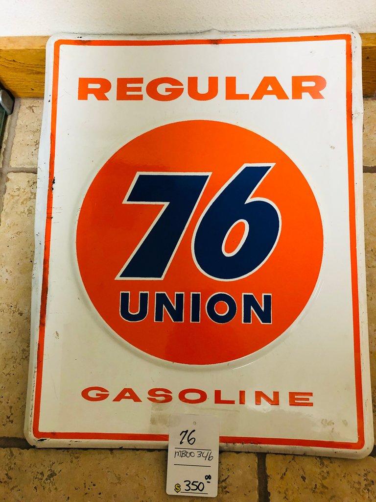 ORIGINAL 76 GASOLENE SIGN